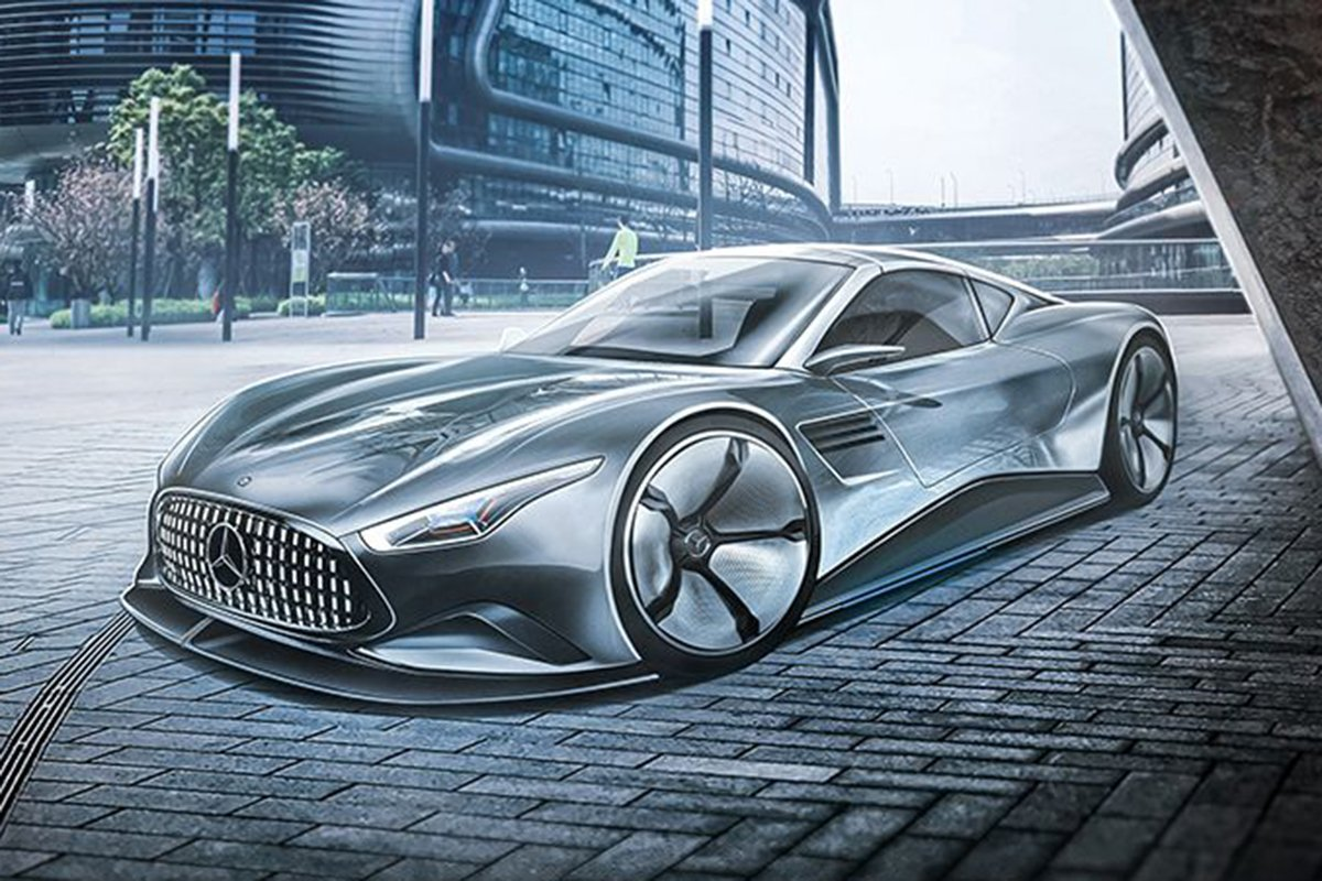 A picture of the SL 2050 concept