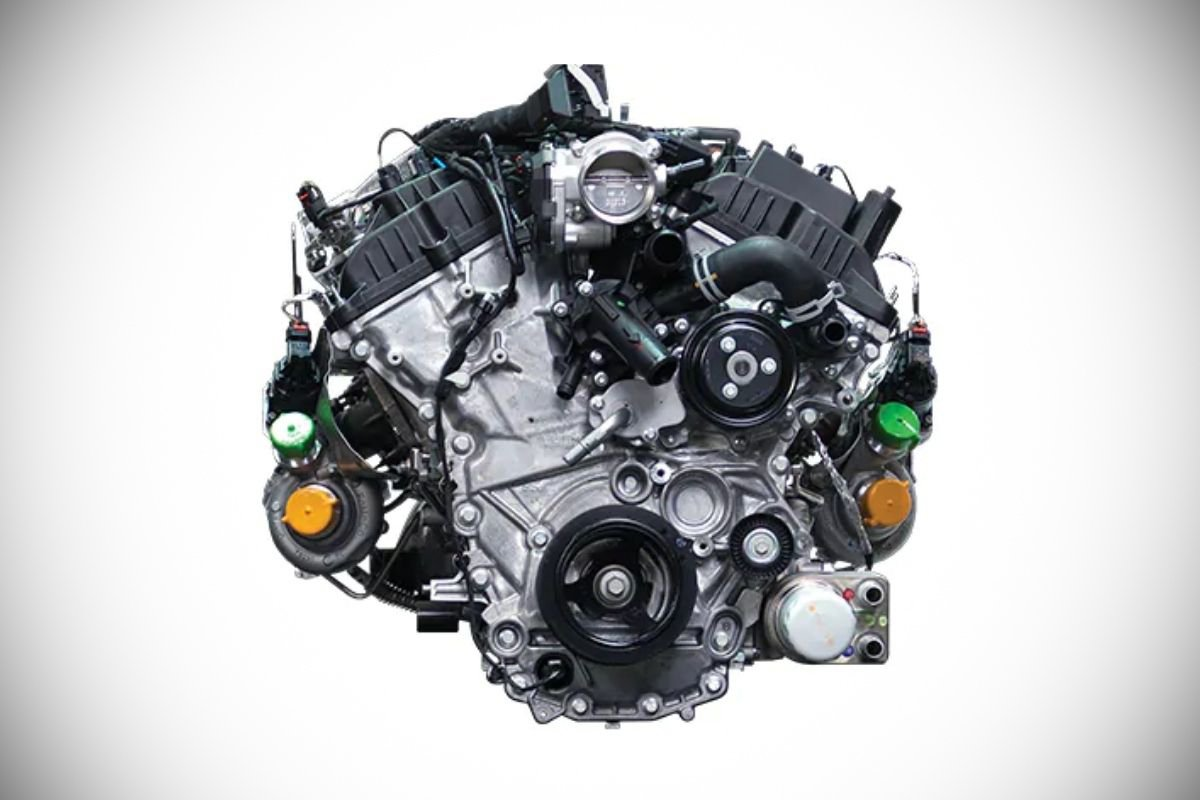 A picture of the F-150 PH-spec engine