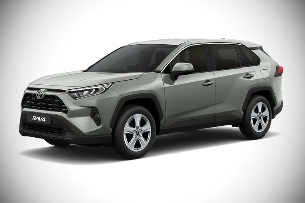 A picture of the Toyota RAV4 PH-spec