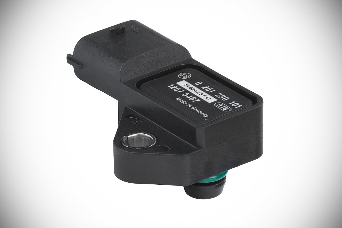A picture of a MAP sensor