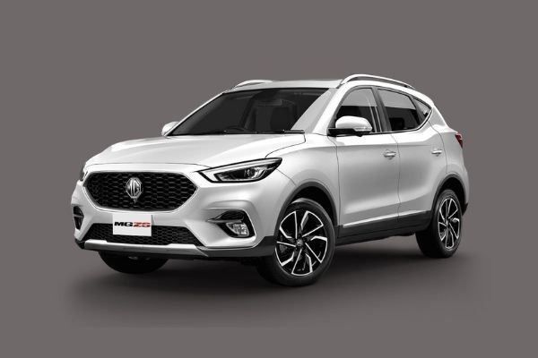 New MG ZS front view