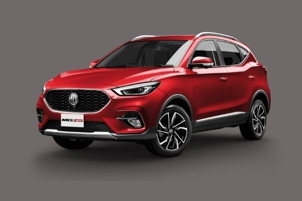 2021 MG ZS Scarlet Red