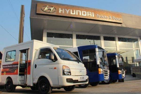 Hyundai jeepneys