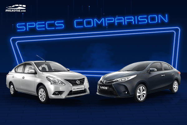 A picture of the Toyota Vios vs Nissan Almera head to head