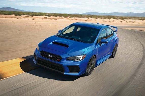 2020 Subaru WRX STI front view