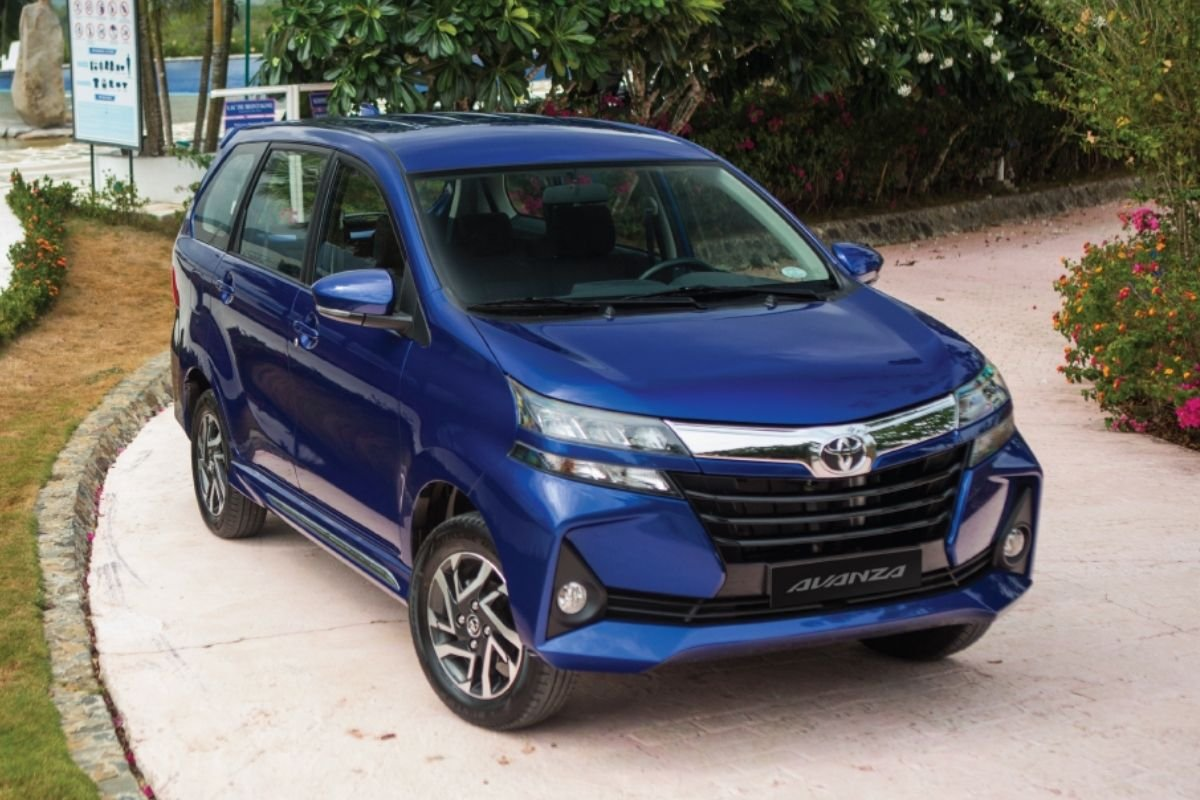 A picture of the TOyota Avanza G