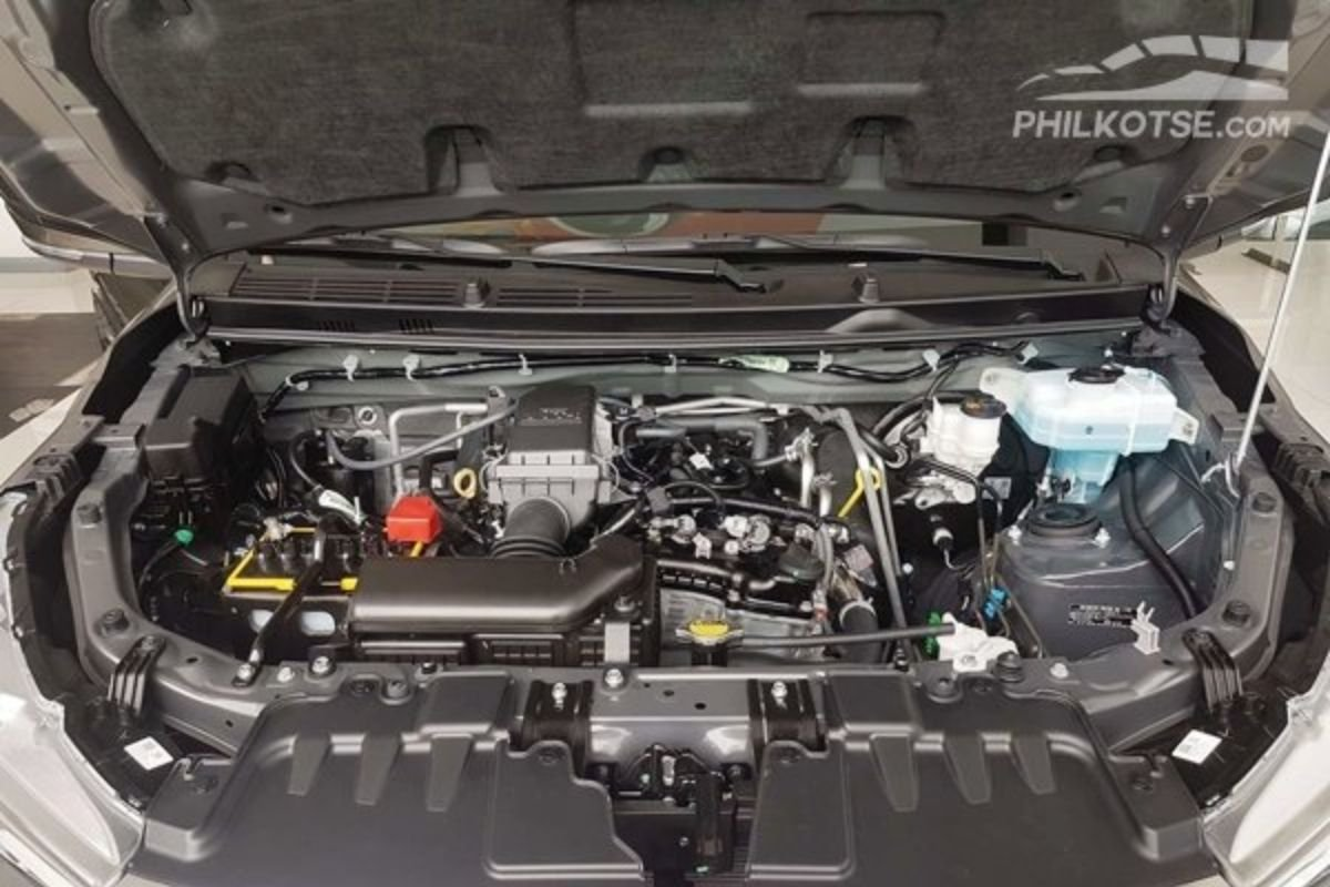 A picture of the Avanza's engine