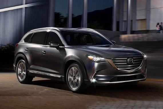 2020 Mazda CX-9 front view