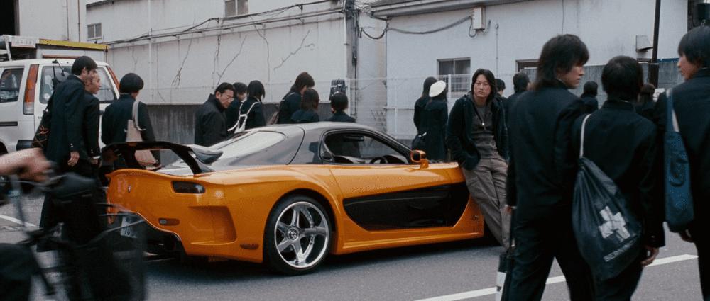 Mazda RX-7 Veilside Tokyo Drift