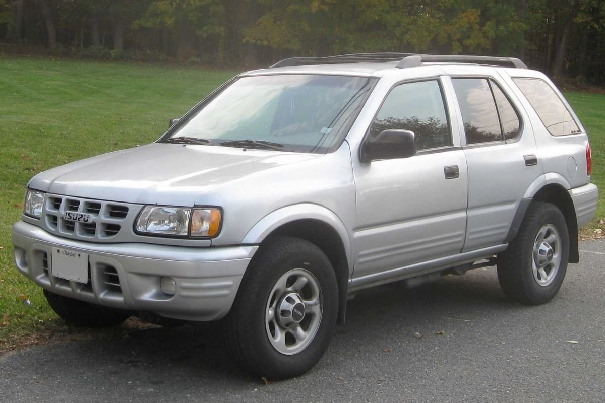 A picture of the Isuzu Wizard