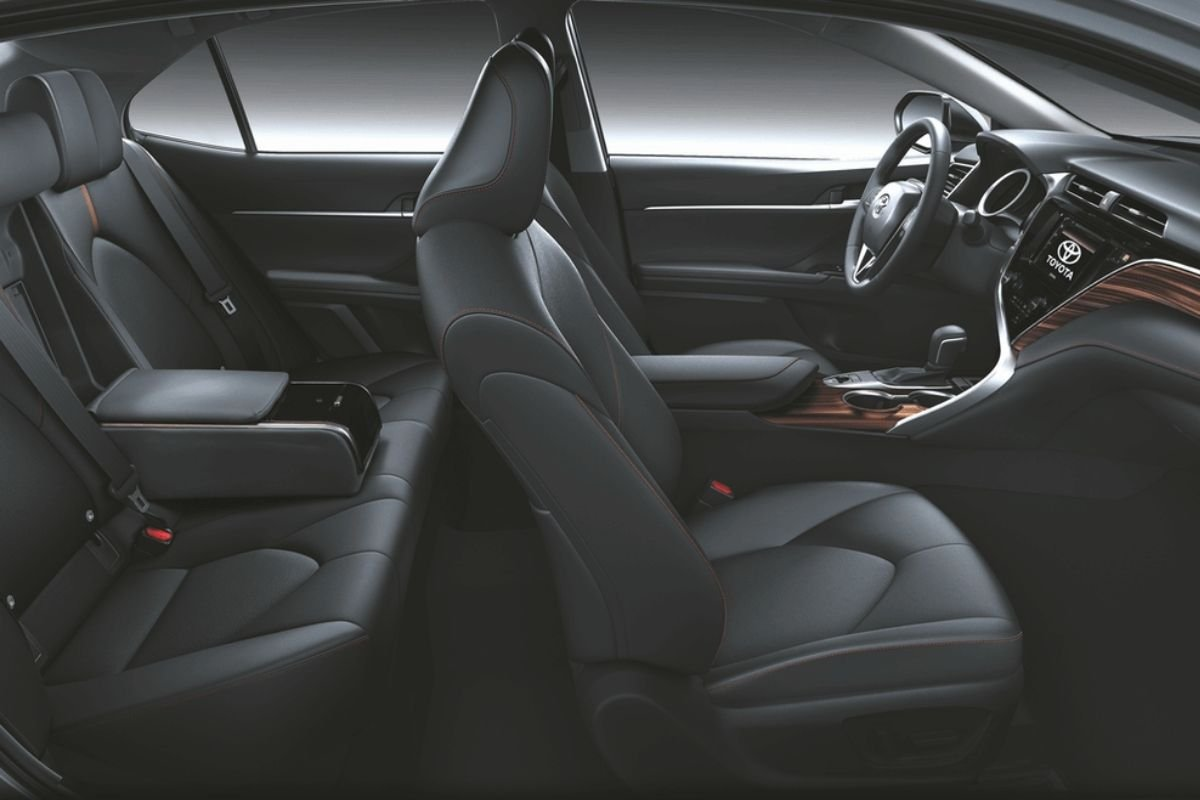 A picture of the Toyota Camry's interior