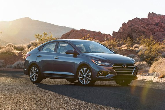 Hyundai Accent front view
