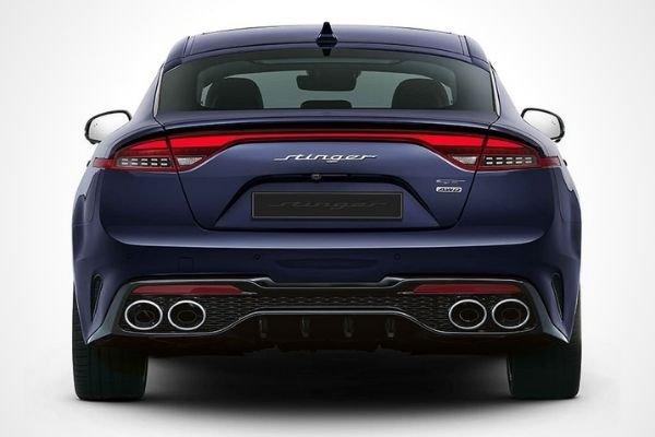 2021 Kia Stinger rear view