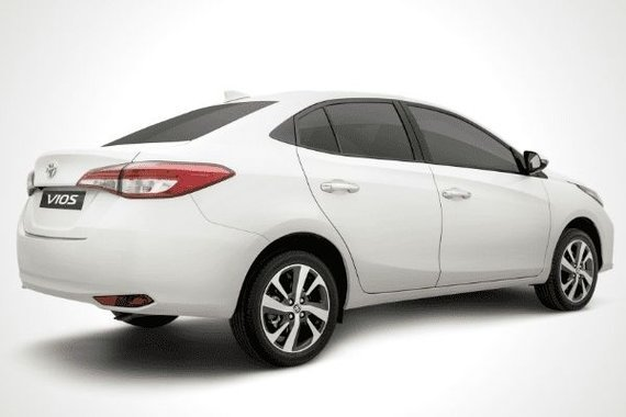 Toyota Vios rear view