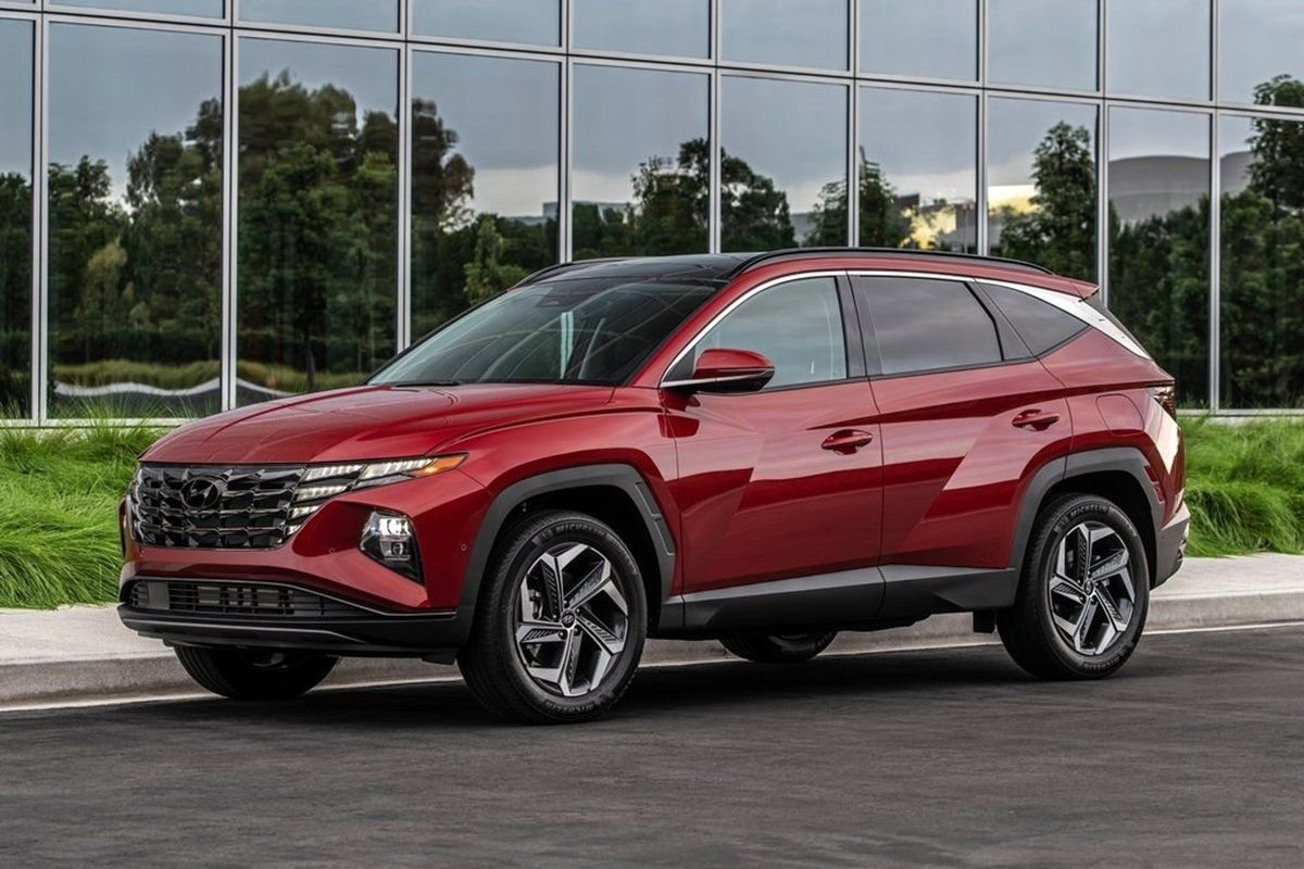 A picture of the 2021 Hyundai Tucson