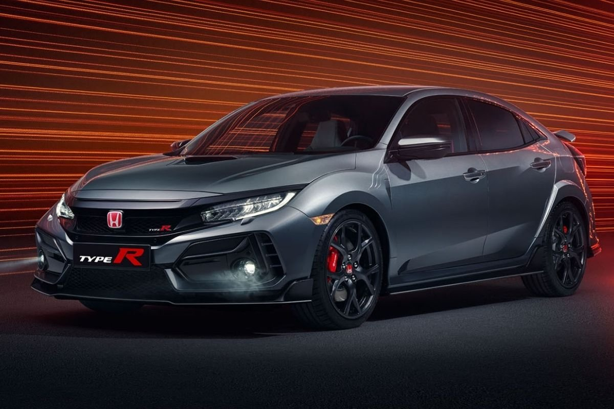 A Picture of the Civic Type R Sport Line variant