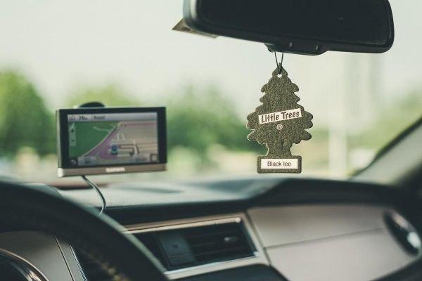 Air freshener in a car