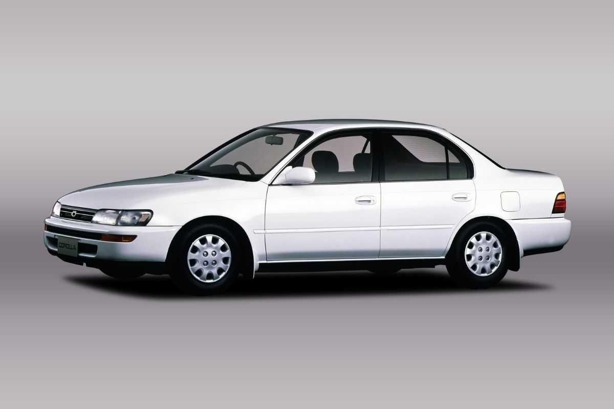 A picture of the Toyota Corolla E100