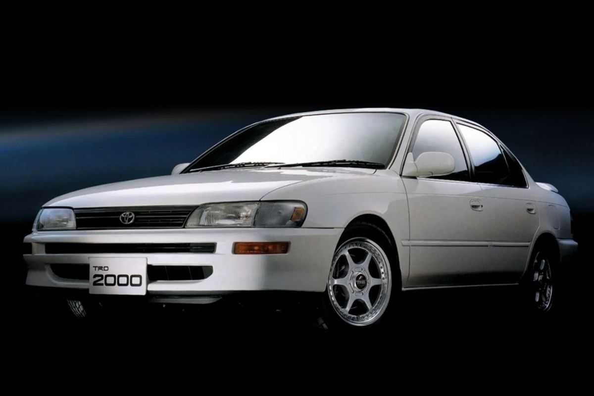 A picture of the Toyota Corolla TRD2000