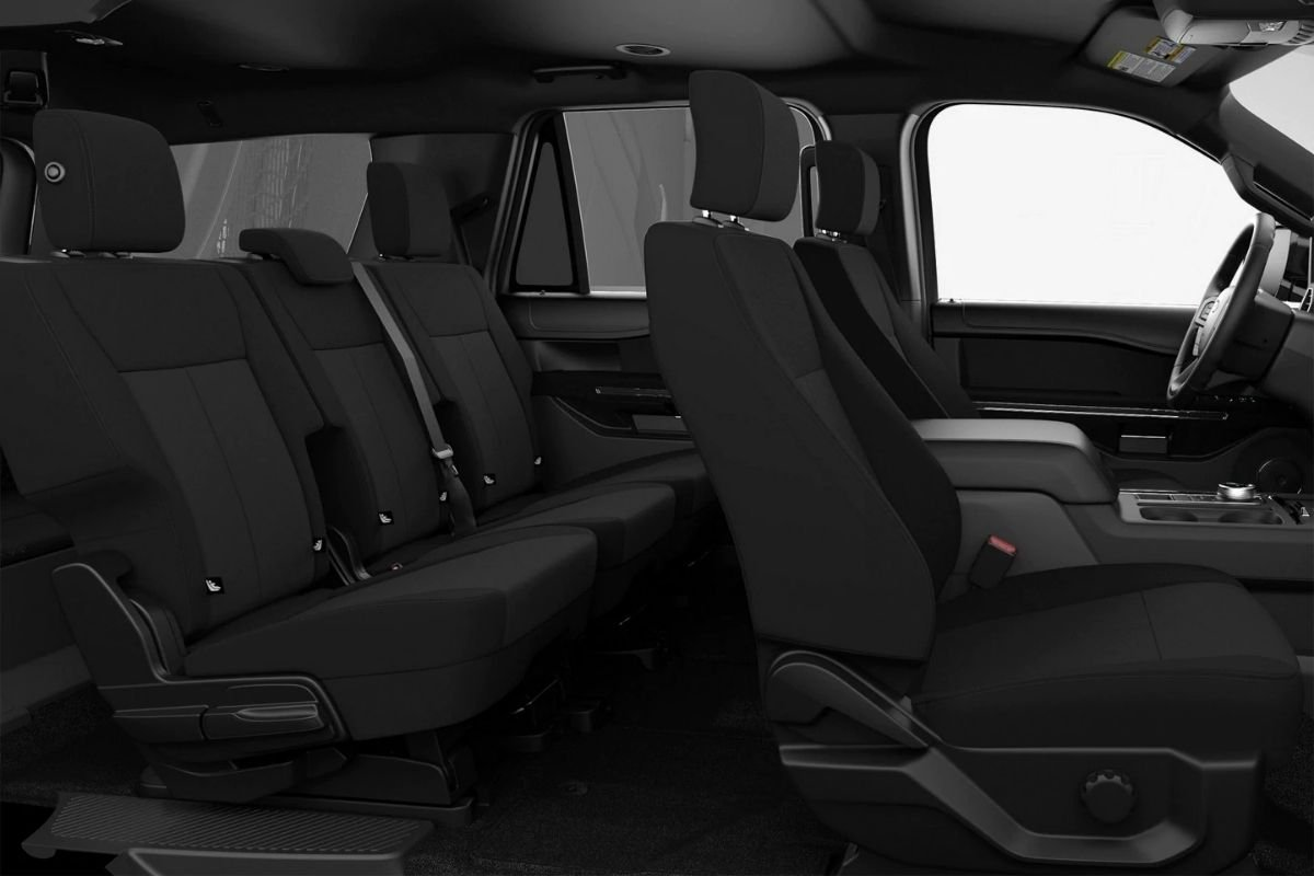 Interior view of the Ford Expedition XL STX