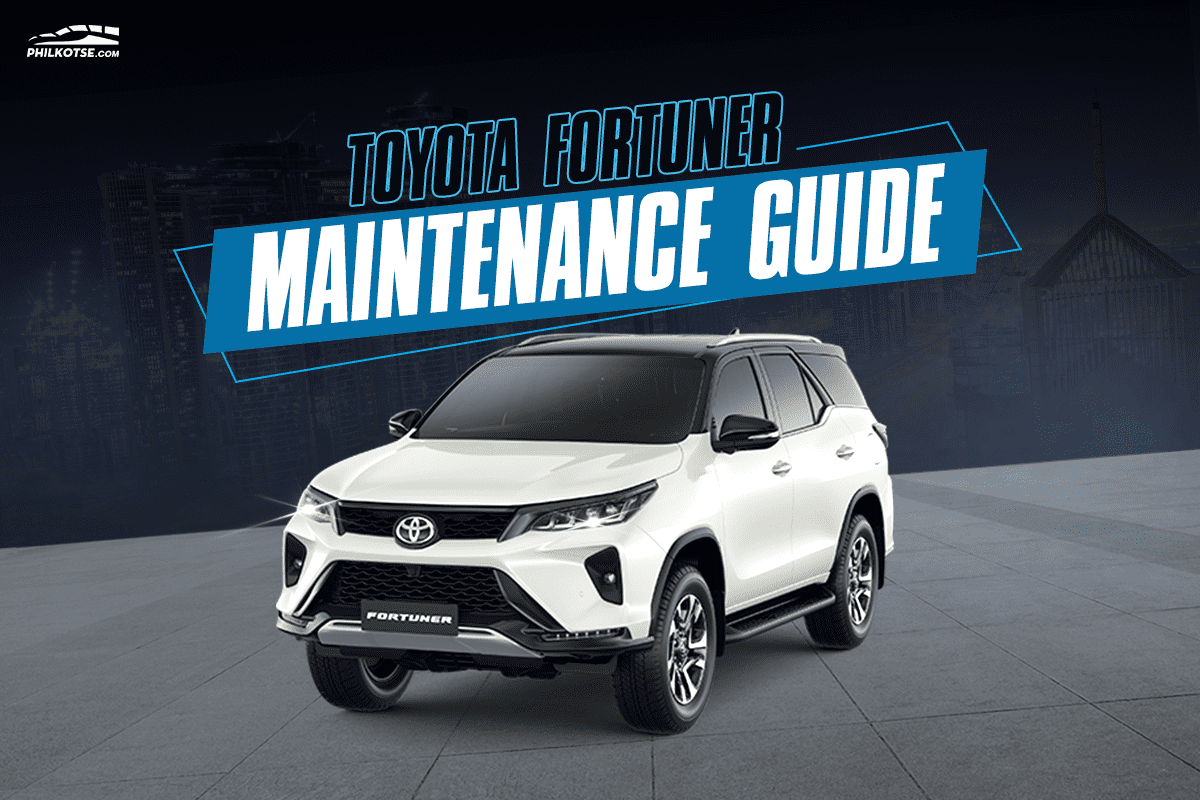 Toyota Fortuner Maintenance Guide