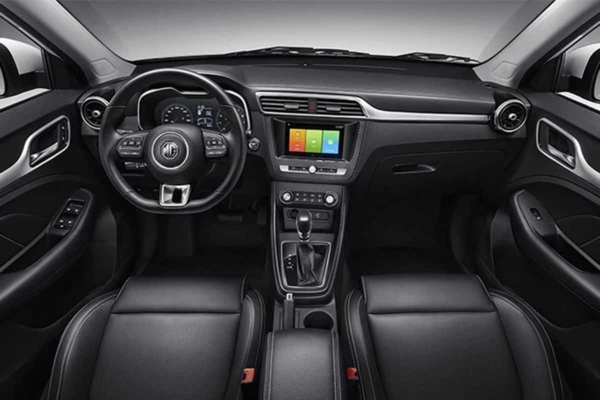 A picture of the MG ZS' interior