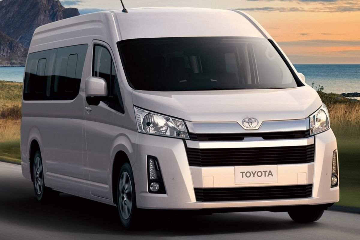 A picture of the Toyota Hiace