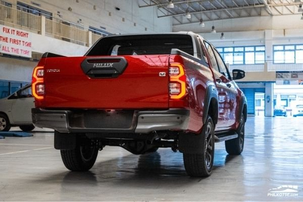 Toyota Hilux rear view