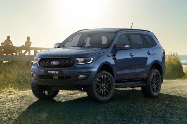 Ford Everest Sport front shot