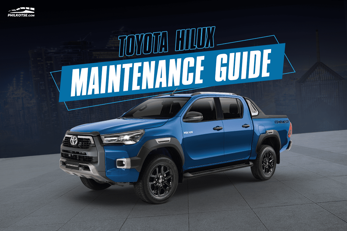 2021 Toyota Hilux Maintenance Guide