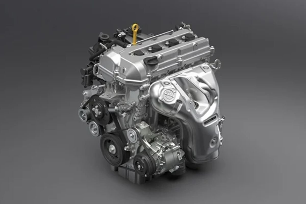 A picture of the Vitara's engine