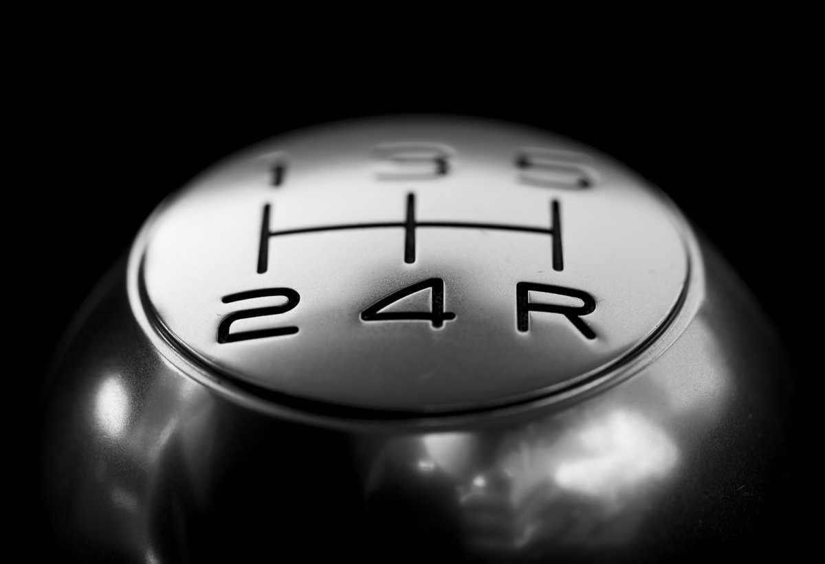 Manual shift knob