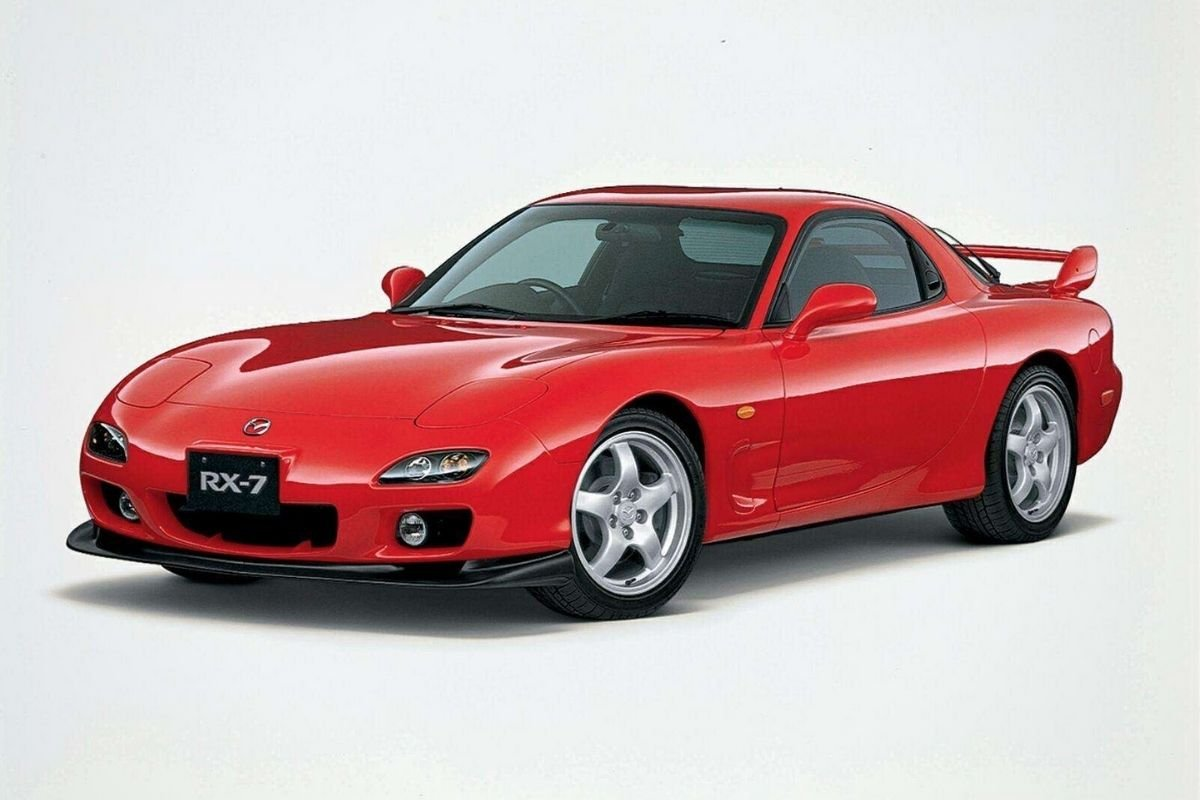 Mazda RX-7 front view