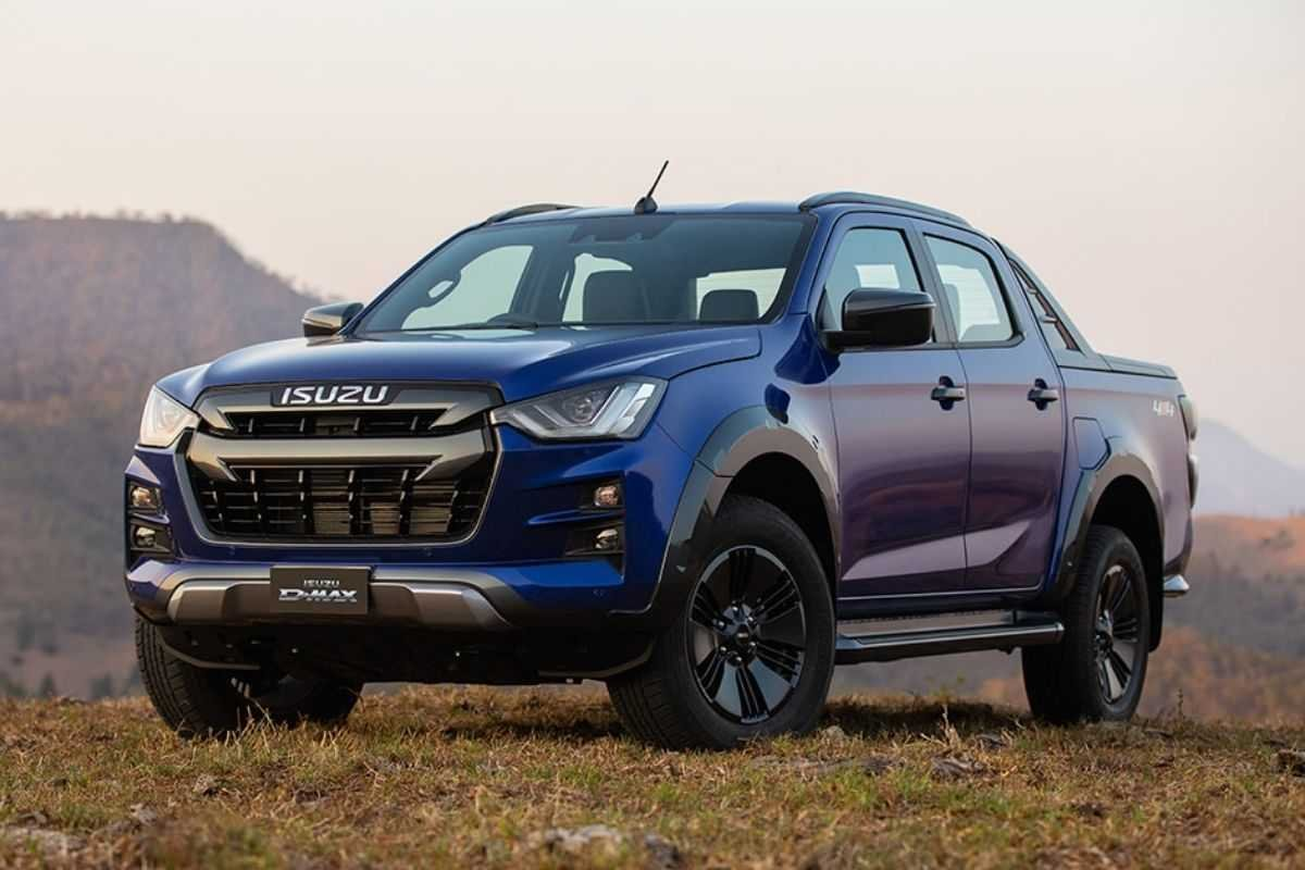 A picture of the 2021 Isuzu D-Max