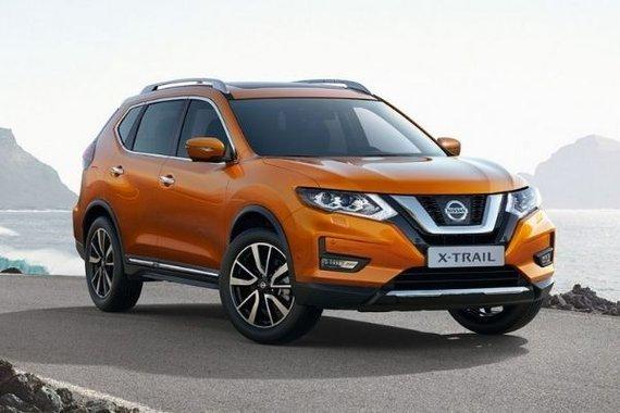 Nissan X-Trail front profile shot