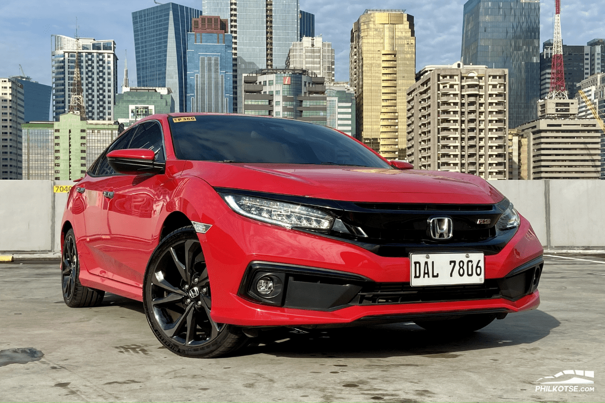 2020 Honda Civic RS Turbo front profile