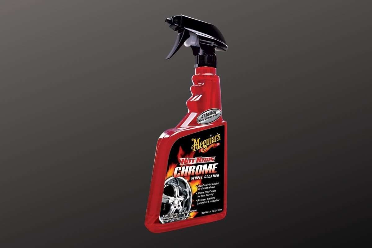 Meguire's chrome rim cleaner