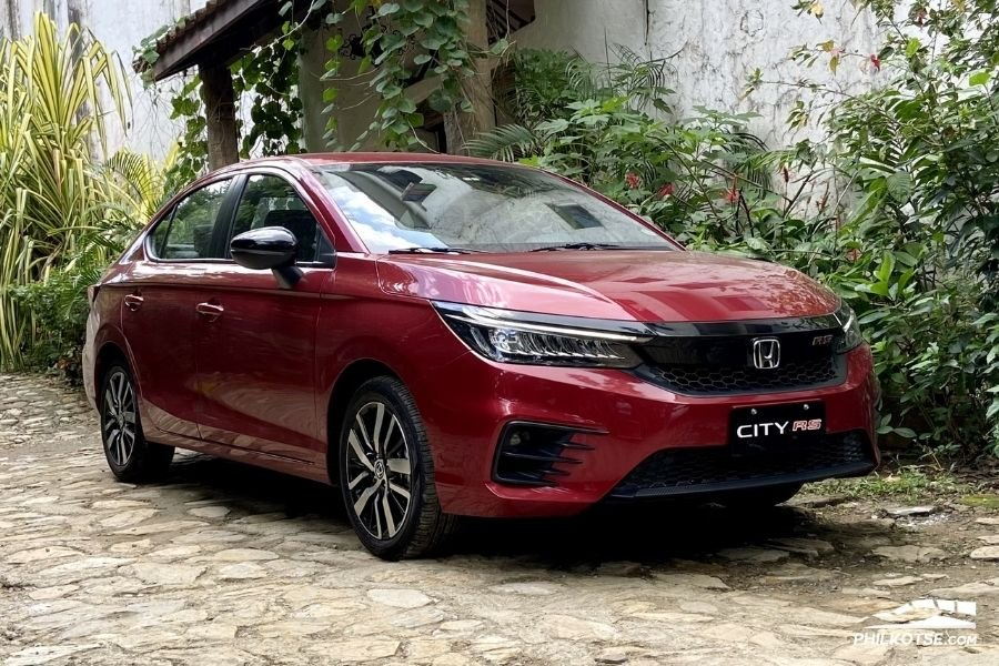 2021 Honda City RS front profile
