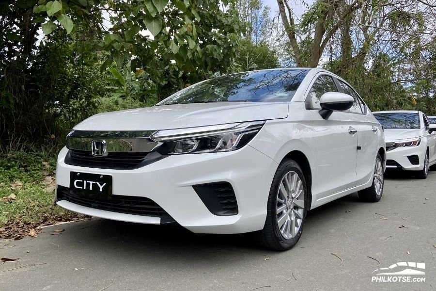 2021 Honda City V front profile shot