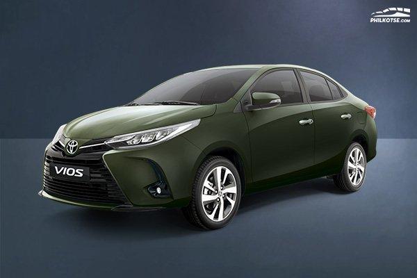 Toyota Vios Philippines angular front