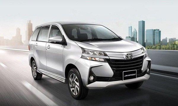 Toyota Avanza Philippines angular front