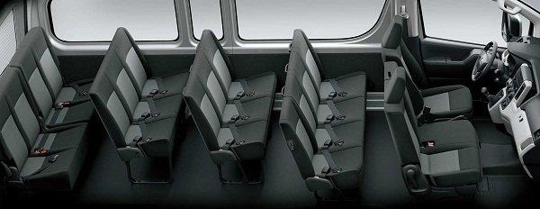 Toyota Hiace Philippines cabin