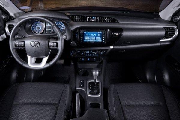 Toyota Hilux Philippines interior