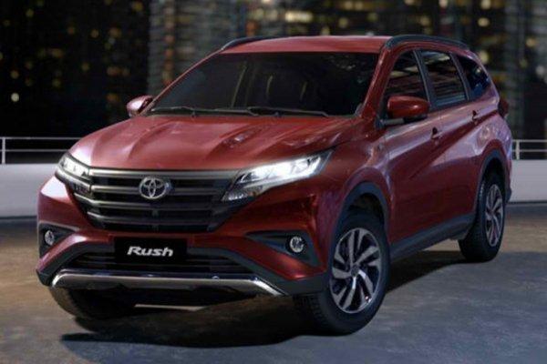Toyota Rush Philippines angular front