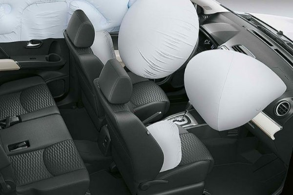 Toyota Rush's airbags