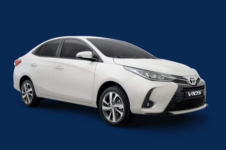 2021 Toyota Vios front side shot