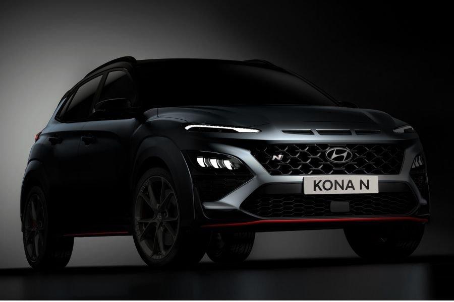Hyundai Kona N front view