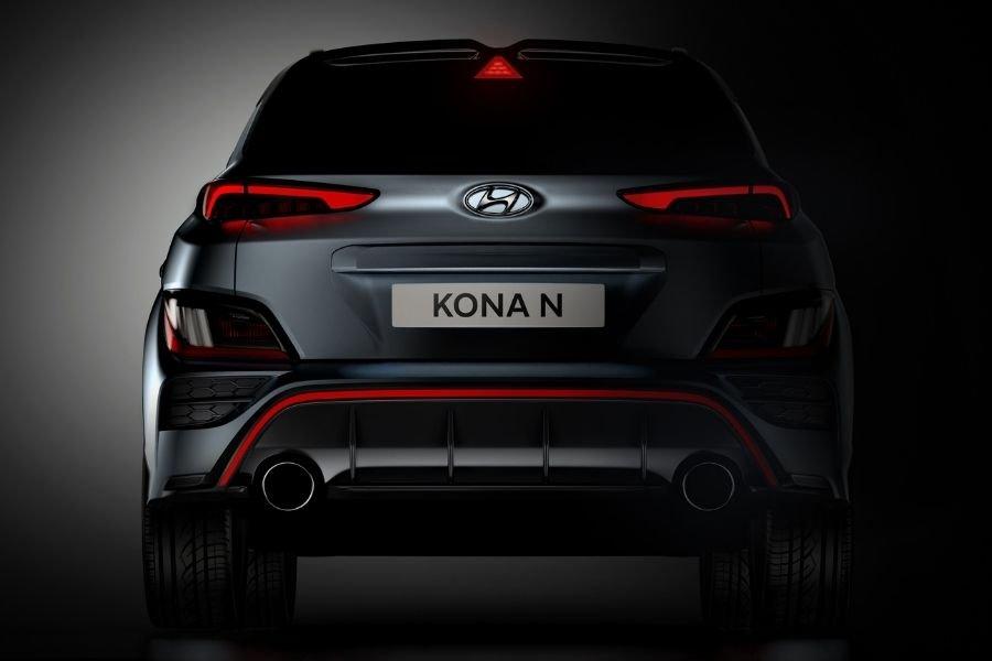 Hyundai Kona N rear view