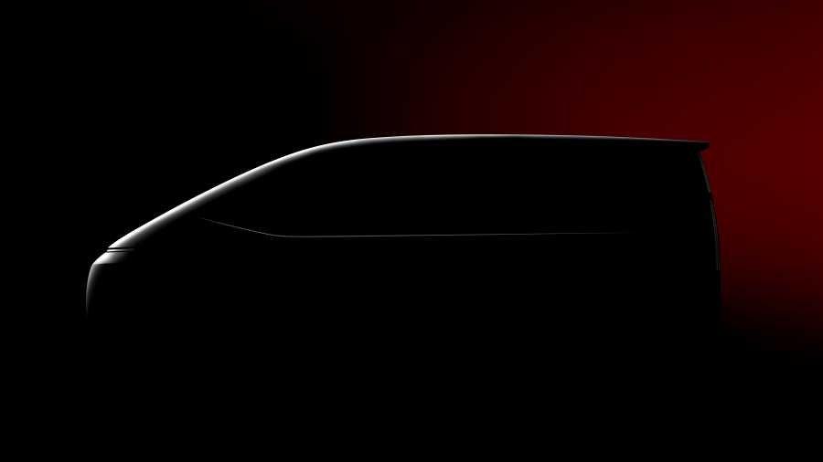 Hyundai Staria silhouette