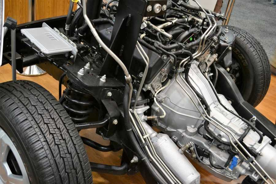 Car underchassis